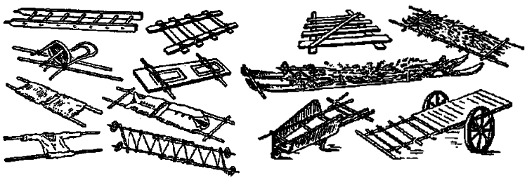 МБУДО ЦДЮТЭ - Изготовление носилок